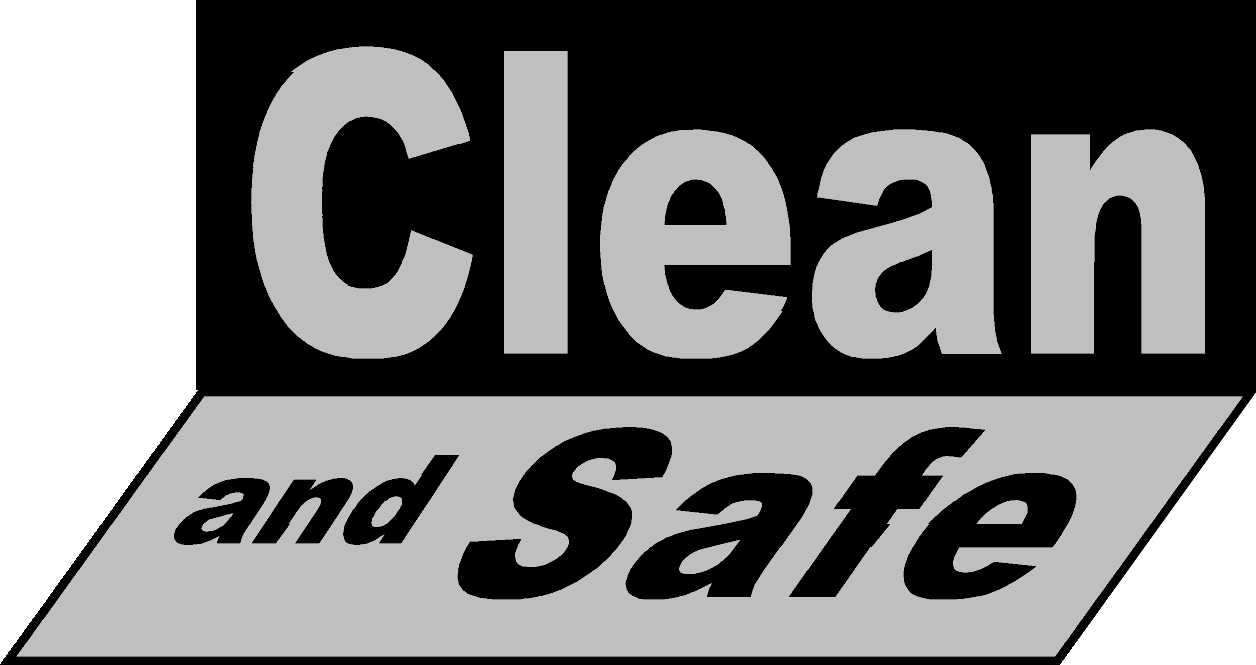 Clean and Safe Logo